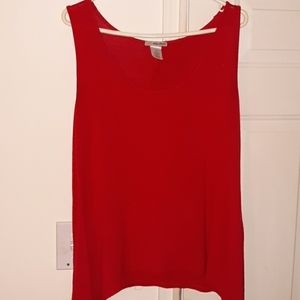 Ultra teeze Beautiful red dress tank